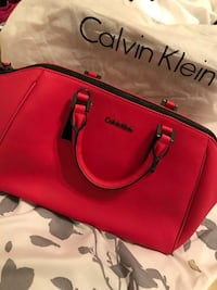 Calvin Klein red handbag with long strap  Chandler, 85226