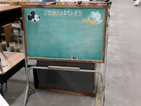 Vintage Mickey mouse Donald duck chalkboard stand Welland, L3B 5K8