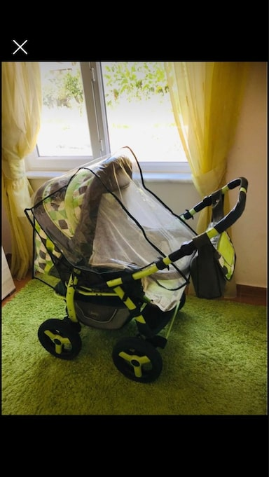 Adamex young jeep stroller 3 in one 0 to 6 years old cot and stroller 335340a7-5de9-41ac-8e46-ead7f9eed0a7