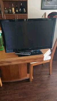 black Samsung flat screen TV Etobicoke, M9C