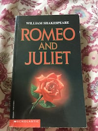 Romeo and Juliet by William Shakespeare Book Oakville, L6H 5Y1