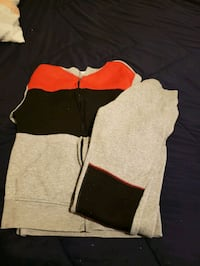 red black and gray sweatsuit  Newark, 07106
