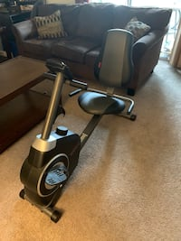 Black and gray stationary bike San Diego, 92126