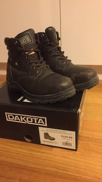 Women's Steel Toe Boots - Size 7 Vancouver