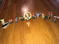 assorted character toy lot 20 km