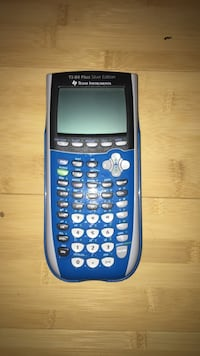 TI-84 Calculator Sterling, 20165