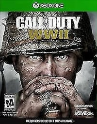 call of duty world war 2 for the xbox one in perfect condition only has been played twice  Calgary