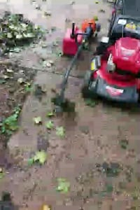 red and black push mower Silver Spring, 20907