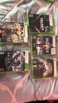four Xbox One game cases Spokane, 99207