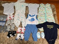 0-3 Months Baby Boy Clothing - Gently Used  Burlington, L7M 0C8