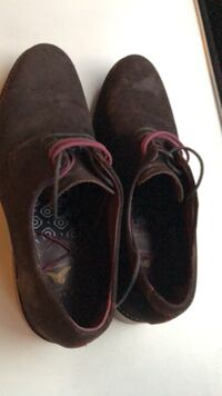 Ted Baker velvet shoes size 9