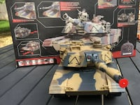 Big Radio Controlled Toy Tank, Ready to Play Today - Great Gift