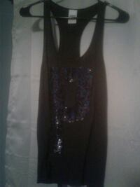 Black tank top with glittery P on front Port Richey, 34668