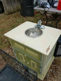 Nightstand converted to children's play sink Springfield, 65807
