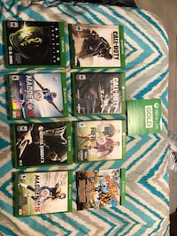 8 Xbox one games with 7 days of gold Burlington, 53105