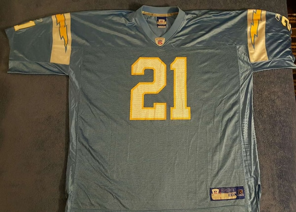 release date: 5b27b 21063 Cool! Chargers, #21, Ladanian Tomlinson Jersey! N