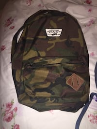 green Vans forest camouflage backpack Toronto, M2N 7H1