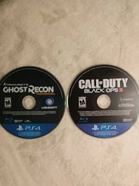Black ops3 and ghost recon White Pigeon, 49099