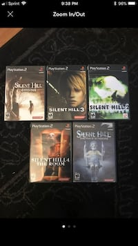 Silent Hill PS2 Game Lot Glendale Heights, 60108