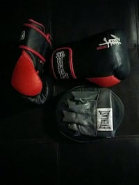 pair of black-and-red Boxing Gloves Peterborough, K9J 2R2