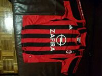 Youth Size L Soccer Ac Milan Adidas Italy    Toronto, M6H