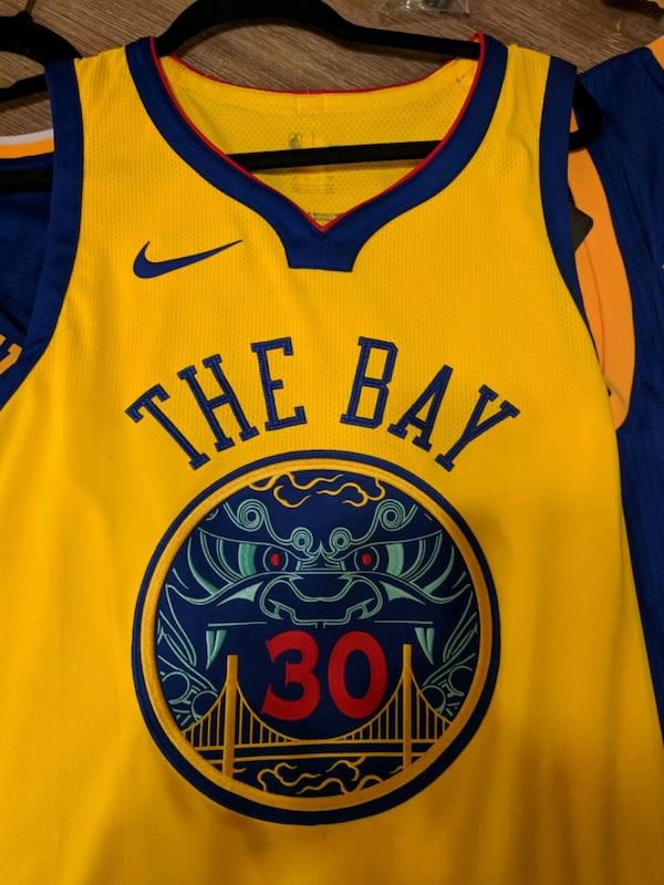 separation shoes c9e94 c9ad3 THE BAY NBA Warriors #30 Jersey Special E. Mint!