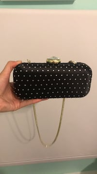 black and white polka dot wristlet Toronto, M6P 2S3