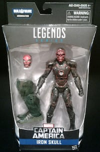 Marvel Legends Iron Skull Action Figure Port Coquitlam, V3B 7G7