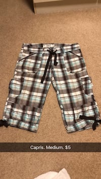 black, white, and gray plaid shorts Lake Country, V4V 1K3