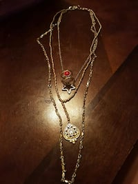 True Religion necklace with ring size 6/negotiable Edmonton, T6J