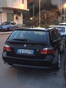 BMW 525d nera touring anno 2005