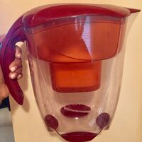 Mavea Elemaris XL- 9 cup Water Pitcher w/new filter, 2 unopened filters