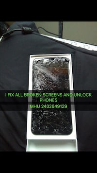Phone screen repair I fix all broken phones iphone 4,4s,5,5c,5s,6,6+,6s,6sq+,7,7+,8,8+,x and all samsung phones repairs Washington