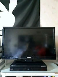 black Samsung flat screen TV Barrie, L4N 6S4