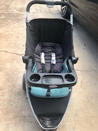 Stroller and car seat set (with car base)