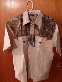 Mens short sleeve shirt new with tags