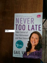 never to late book Upper Tantallon, B3Z 1L3