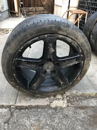 2004 Acura TL wheels with tires