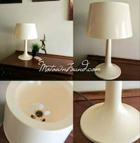 Vintage Mushroom Lamp Light Retro MCM White Groovy Warren, 48093