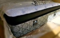 Luxury king mattress pocket coil. Delivery available. Sealy posturepid Edmonton, T5Z 2X7