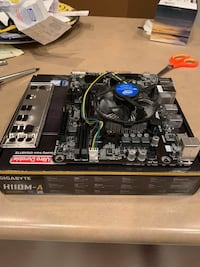 I5 6400 and h110M-A gigabyte motherboard (already installed) Maple Ridge, V2W 2C7