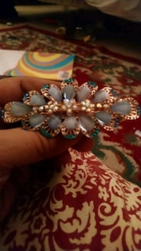 beaded white and blue bracelet Falls Church, 22041