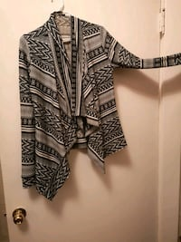 black and white tribal print long sleeve dress Winnipeg, R2W