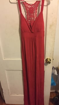 Red sleeveless maxi dress Baltimore, 21229