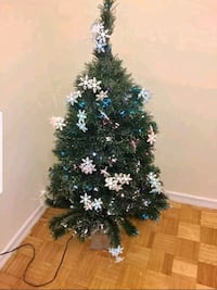 "Christmas tree 48"" tall w/ built in multi coloured Toronto, M1P 4V9"
