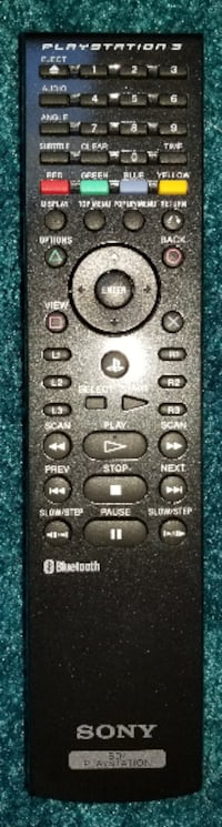 Sony Blu-Ray PS3 Remote Control Frederick
