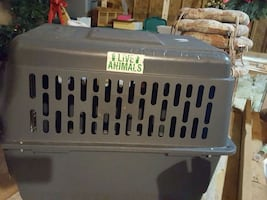 Large airline approved dog travel crate