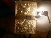 Pokemon gold plated collectables