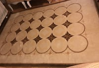 white and brown floral area rug Markham, L6C 1H8
