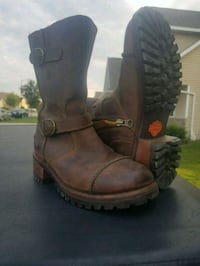 Brown Harley Davidson Boots De Pere